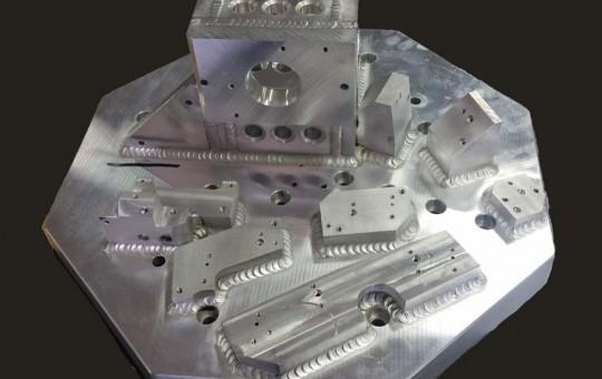 Vibration Test Plate Headlight Assembly